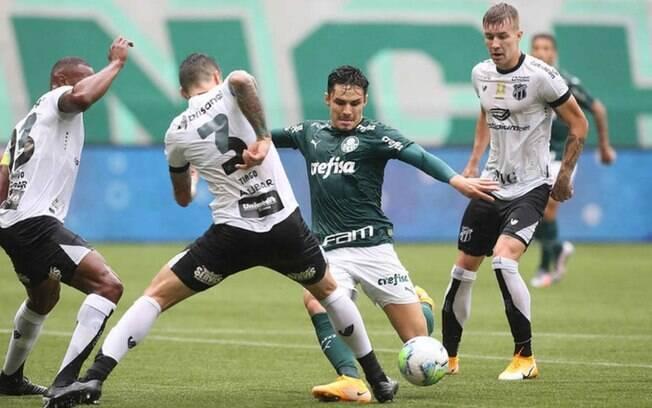 Palmeiras tem muitos desfalques para a partida contra o Ceará