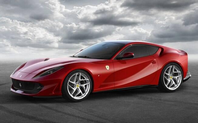 cheap for discount 7aee8 7026a Ferrari 812 Superfast. Foto  Divulgação