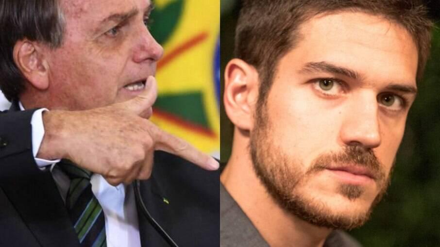 Bolsonaro e Marco Pigossi