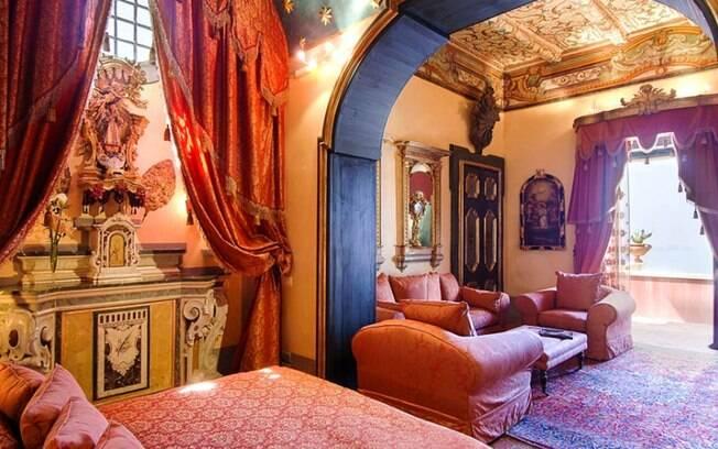 Suíte do Palazzo Santa Croce
