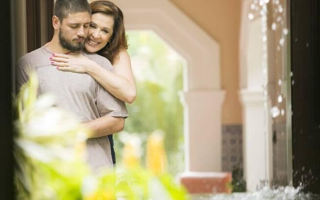 Cláudia Raia em ''A Lei do Amor''