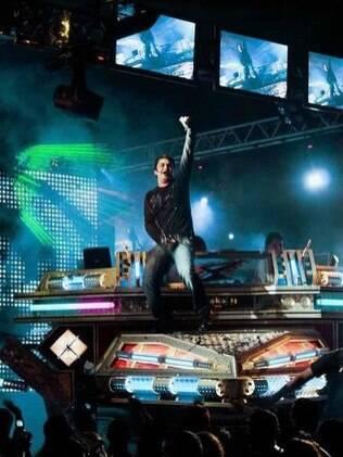 Aparelhagem do DJ Juninho no documentário