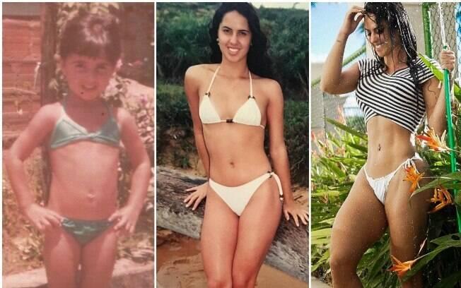Graciele Lacerda fala sobre mudanças no corpo