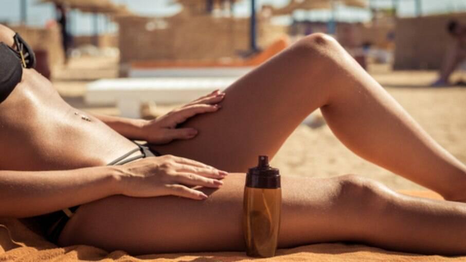 O bronzeamento pode ser bem danoso à pele
