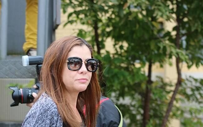 Monica Moura, mulher do marqueteiro do PT João Santana, presa na Operação Lava Jato