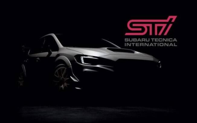 Subaru de edição especial será revelado por completo no Salão de Detroit 2019. Por enquanto, eis a única imagem revelada