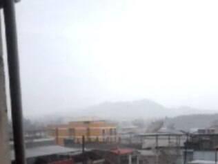 Tarde foi de chuva em São João del Rei