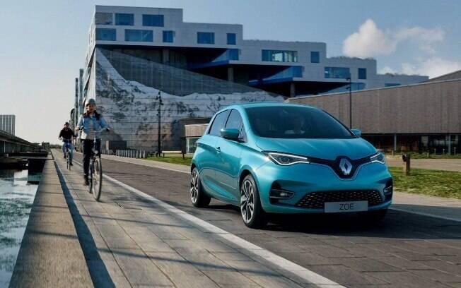 Renault Zoe que virá ao Brasil terá novas tecnologias para aguardar o Nissal Leaf e o Chevrolet Bolt