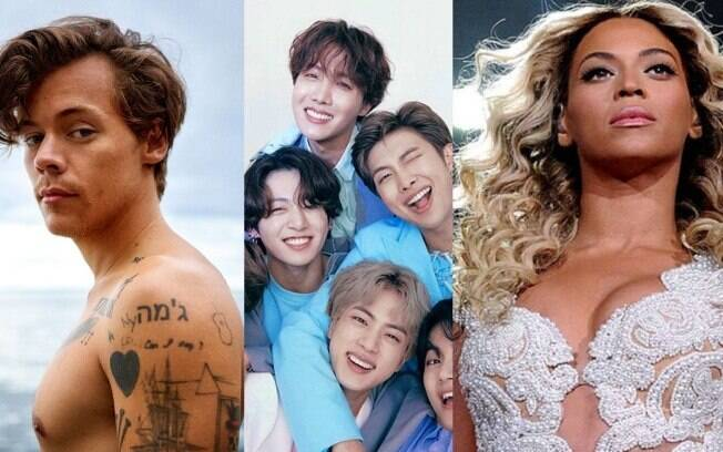 Harry Styles, BTS e Beyoncé