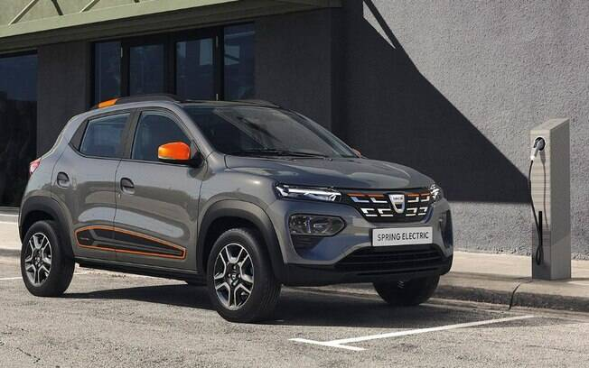 Dacia Kwid Spring será o carro elétrico mais em conta à venda na Europa, mas ainda caro para os padrões brasileiros