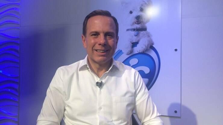 João Doria é o 3º candidato a conceder entrevista à TViG - Eleições - iG