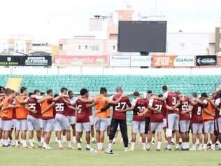 Jogadores do Figueirense estão focados em primeira vitória no Campeonato Brasileiro