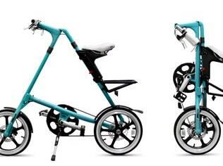 Bicicleta dobrável Strida será um dos produtos exibidos na exposição