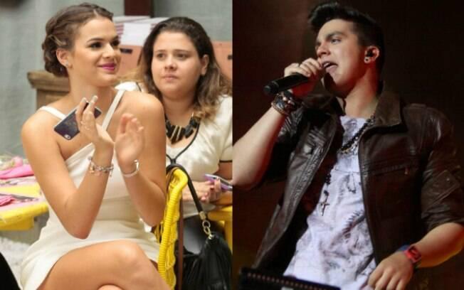 Juntos: Luan Santana foi clicado passeando em shopping com Bruna Marquezine