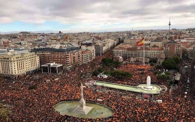 Primeiro-ministro, Pedro Sánchez, foi alvo de uma série de protestos nos últimos dias na Espanha