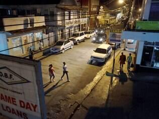 O centro de Port Louis