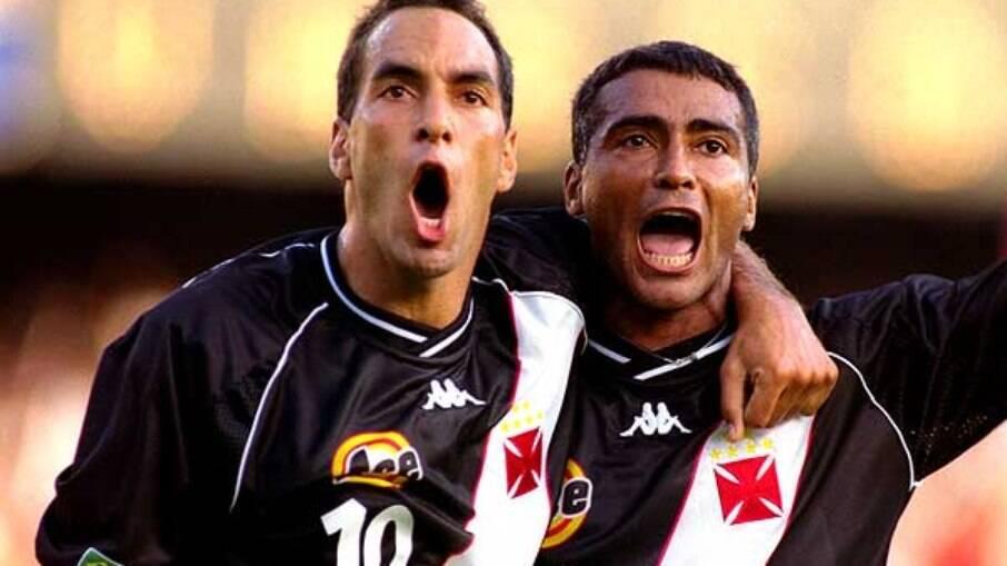 Edmundo e Romário