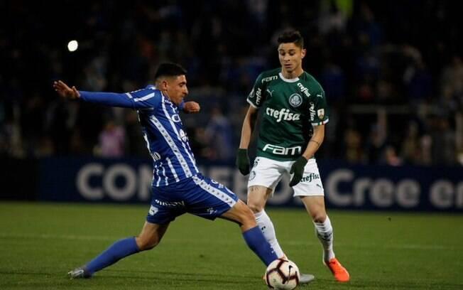 Palmeiras e Godoy Cruz duelaram na Argentina pela Libertadores