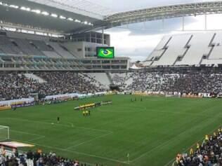 Parte Norte Superior do itaquerão foi vetada pelo Corpo de Bombeiros e não terá um teste sequer antes da estreia do Brasil no Mundial