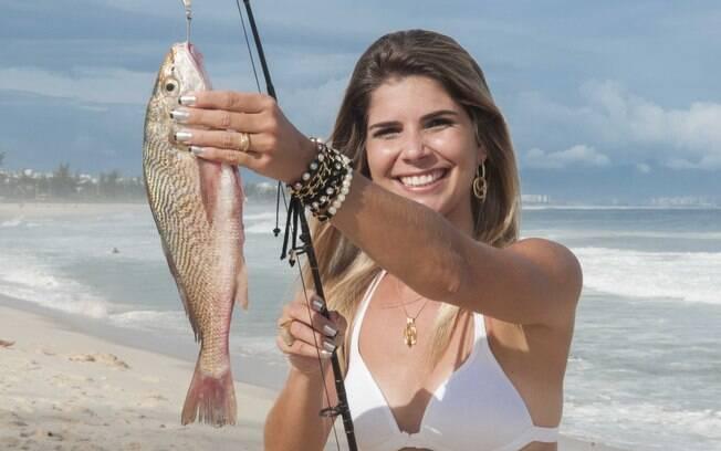 Cresce o número de mulheres que praticam a pesca esportiva