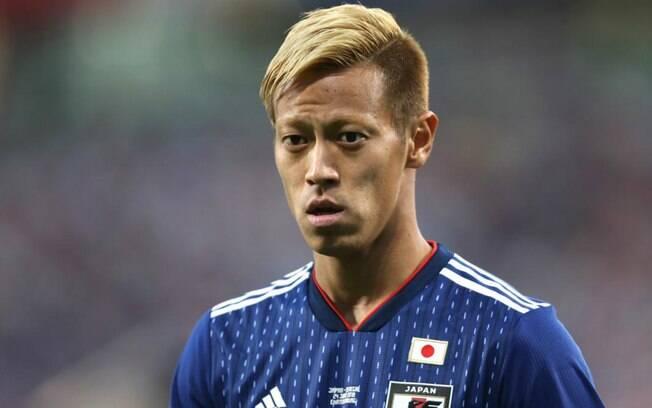 Keisuke Honda será jogador do Botafogo
