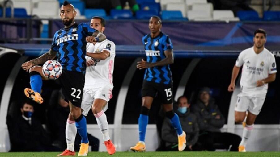 Real Madrid visita a Inter pela Champions
