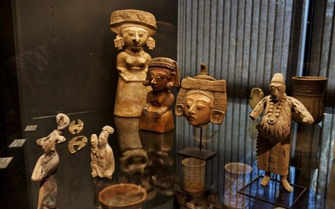 Acervo reúne mais de três mil peças arqueológicas