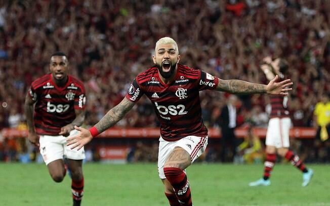 Gabigol marcou duas vezes e o Flamengo goleou o Grêmio