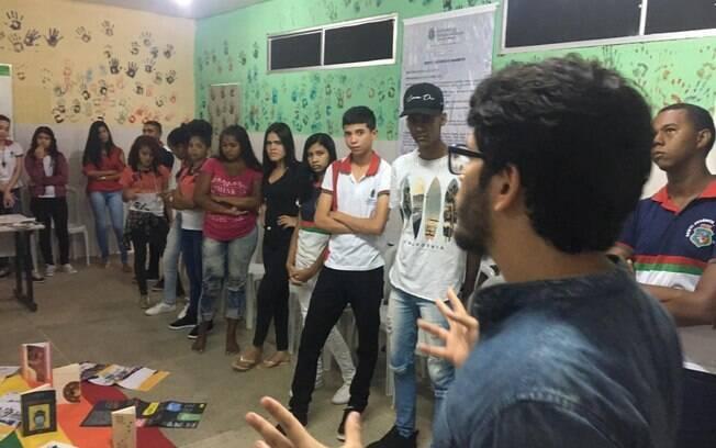 Após participar do Banana-Terra, Geovane Gesteira organização oficinas para mobilizar outros jovens