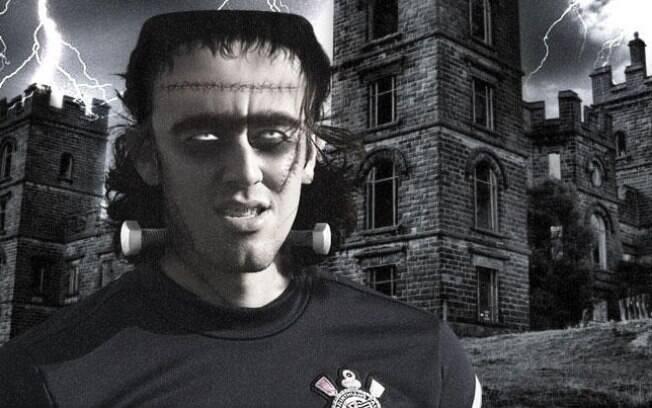Cássio foi caracterizado como Frankenstein no