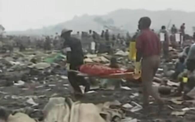 Genocídio em Ruanda gerou extermínio de 20% a 40% da população de Ruanda, atualmente, o país mais populoso da África