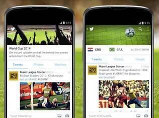 Twitter terá linha do tempo dedicada para a Copa do Mundo