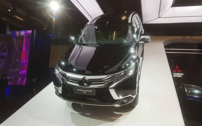 Mitsubishi vai trazer o novo Pajero Sport a partir do início de 2019. SUV se destaca no Salão do Automóvel 2018
