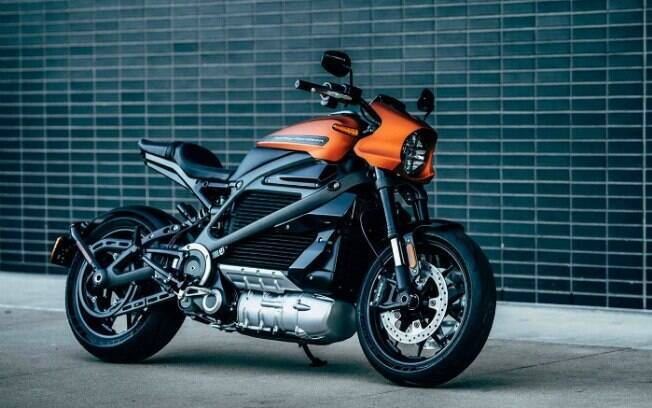 Harley-Davidson LiveWire: moto elétrica que a BMW Vision terá que enfrentar logo de cara