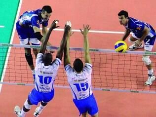 Partida decisiva. Vivo-Minas e RJ Vôlei decidem hoje, no Rio de Janeiro, quem vai para as semifinais do campeonato nacional de vôlei