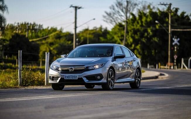 Honda Civic:  o conjunto bem acertado é uma das qualidades do modelo que tem o Toyota Corolla como grande rival
