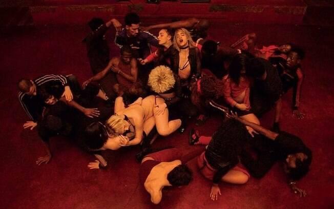 O diretor Gaspar Noe recebeu boas críticas por seu novo trabalho, o filme