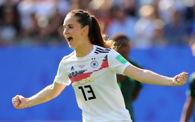 Däbritz fez o segundo gol da Alemanha contra a Nigéria