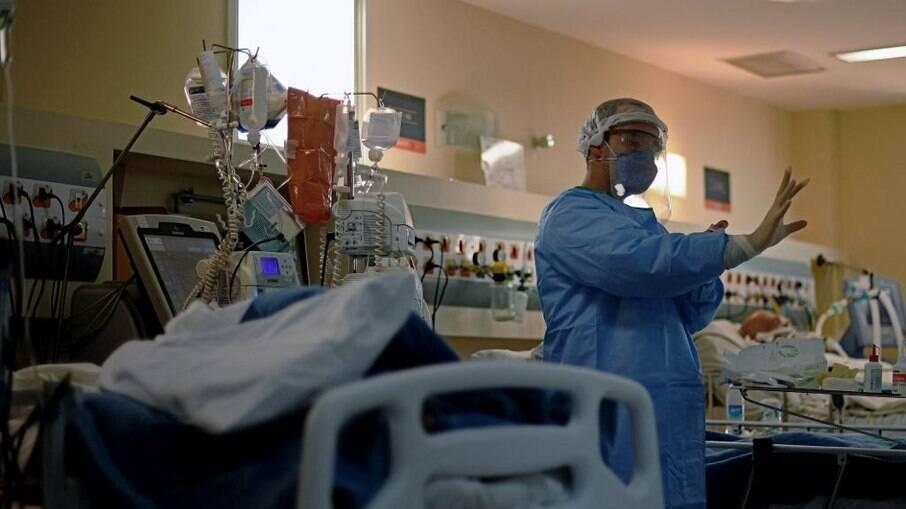 De acordo com pesquisador, uma ala inteira de hospital faleceu por falta de oxigênio disponível