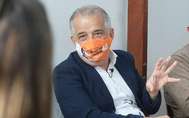 Márcio França (PSB) ficou na terceira posição no 1º turno das eleições em São Paulo