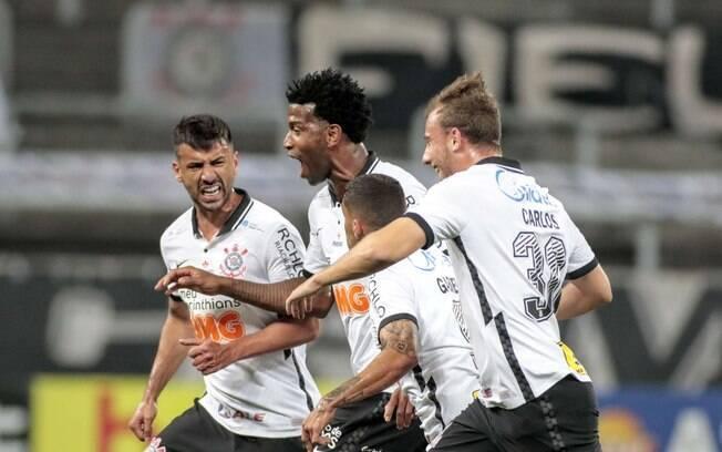 Jogo do Corinthians e Palmeiras