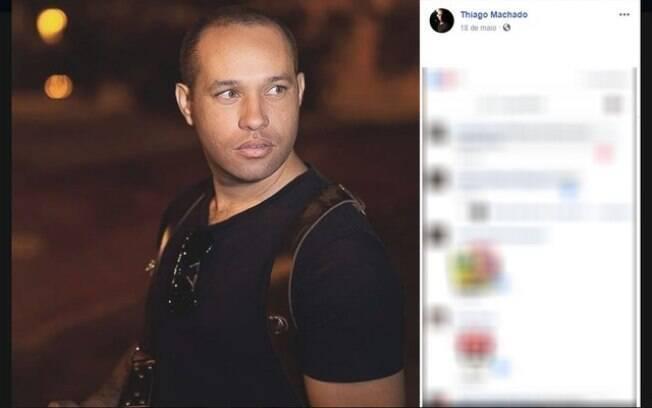 Soldado Thiago Machado foi baleado por colega dentro do 47º Batalhão