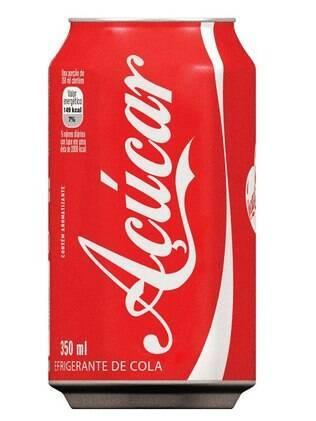 Refrigerante de cola = Açúcar