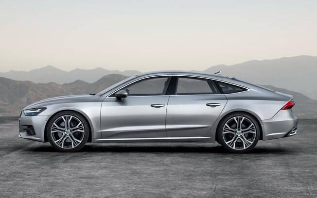Audi A7 prata