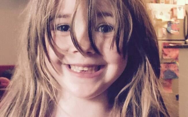 Filha da escritora Toni Hammer, que escreveu a mensagem, iniciou o jardim de infância este ano, fase importante da vida