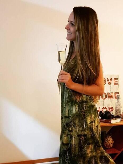 Tamara Maiochi morreu durante a comemoração da vitória do Brasil