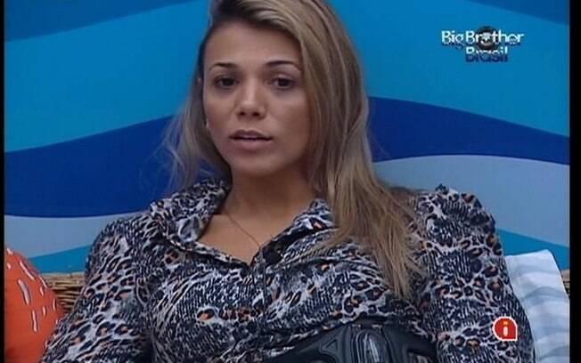 Fabiana volta a falar da ex-sister Laisa