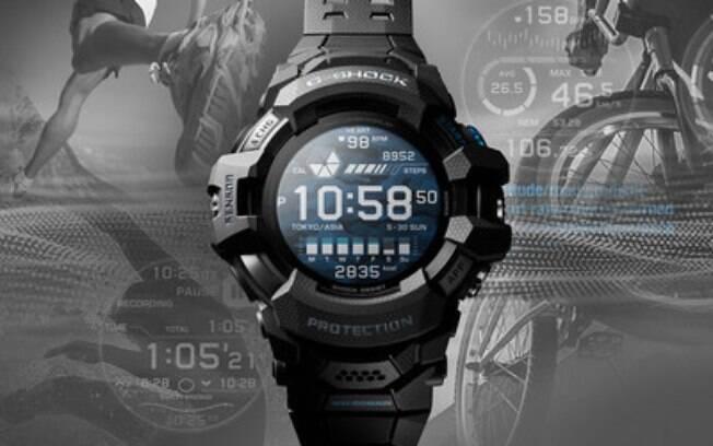Casio lança o primeiro smartwatch G-SHOCK com Wear OS da Google