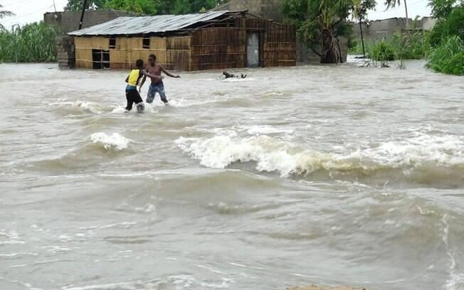 Enchentes irão se tornar cada vez mais devastadoras