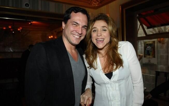 Marisa Orth e Daniel Boaventura